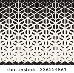 vector seamless black and white ... | Shutterstock .eps vector #336554861