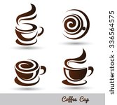 Coffee Cup Set Vector...