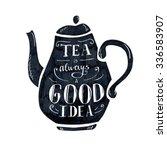 Vector Illustration Tea Time...