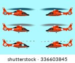 Set Red Rescue Helicopters....