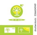 vector company logo icon... | Shutterstock .eps vector #336604949
