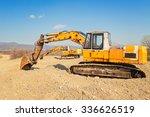 Old And Rusty Excavators...