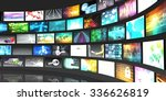 multimedia technology digital... | Shutterstock . vector #336626819