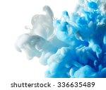 abstract paint splash isolated... | Shutterstock . vector #336635489