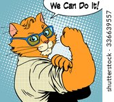 Cat Success We Can Do It. The...