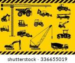 silhouette illustration of... | Shutterstock .eps vector #336655019