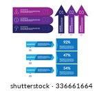 infographic set vector...   Shutterstock .eps vector #336661664