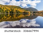 Colorful Autumn Landscape And...