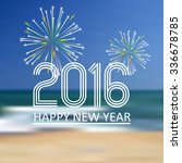 Happy New Year 2016 On The...