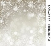 christmas background with... | Shutterstock .eps vector #336694001