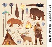 great vector set of elements... | Shutterstock .eps vector #336696731