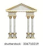 Classic Corinthian Column Arch...