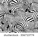 Abstract Illustration Herd Of...