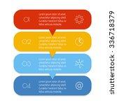 vector paper progress steps for ...   Shutterstock .eps vector #336718379