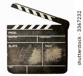 movie clapper board movie... | Shutterstock . vector #3367232