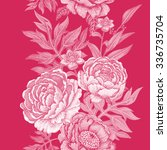 seamless pattern. illustration... | Shutterstock .eps vector #336735704