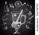 chalk drawn illustration of... | Shutterstock .eps vector #336748769