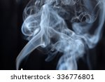the bizarre forms of smoke | Shutterstock . vector #336776801