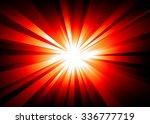 light explosion background wth... | Shutterstock .eps vector #336777719