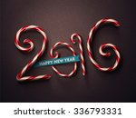 2016  happy new year  eps 10 | Shutterstock .eps vector #336793331