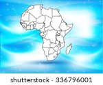 map of africa with background   ... | Shutterstock .eps vector #336796001