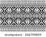 geometric ethnic pattern... | Shutterstock .eps vector #336799859