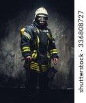 Rescue Man In Firefighter...