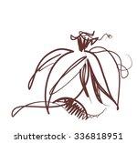 narcissus  spring  spring... | Shutterstock .eps vector #336818951