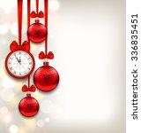 illustration new year... | Shutterstock . vector #336835451