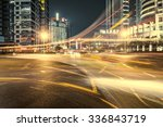 cars in highway with blur motion | Shutterstock . vector #336843719
