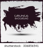 grunge banner.grunge background.... | Shutterstock .eps vector #336856541