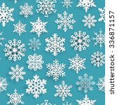 christmas seamless pattern with ... | Shutterstock . vector #336871157