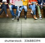 youth friends friendship... | Shutterstock . vector #336880394
