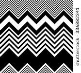 seamless zigzag pattern.... | Shutterstock .eps vector #336882341