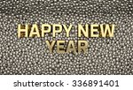2016 text is standing among... | Shutterstock . vector #336891401