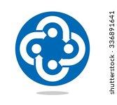 cross and arrow symbol for... | Shutterstock .eps vector #336891641
