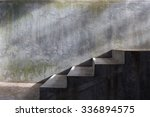cement concrete staircase with... | Shutterstock . vector #336894575