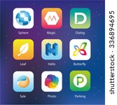app idea logo vector logo...