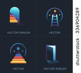 vector set of abstract concepts ... | Shutterstock .eps vector #336904289