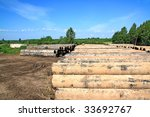 old gas pipes   Shutterstock . vector #33692767