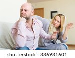 sad adult man has problem ... | Shutterstock . vector #336931601