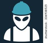 alien builder raster icon.... | Shutterstock . vector #336938525
