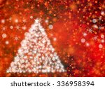 the magic christmas tree.... | Shutterstock . vector #336958394