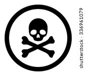 death vector icon. style is...   Shutterstock .eps vector #336961079