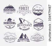 set of premium labels on the... | Shutterstock . vector #336979487