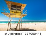 Lifeguard Patrol Tower On The...