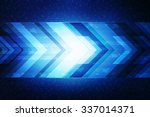 sci fi futuristic user interface | Shutterstock . vector #337014371