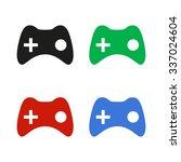 joystick   color vector icon
