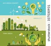 environmental protection... | Shutterstock .eps vector #337030931