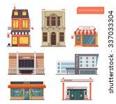 vector collection public town... | Shutterstock .eps vector #337033304